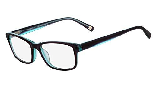 Óculos Marchon Nyc M-Cornelia 035 Roxo Azul Lente Tam 52