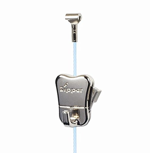 STAS Steel Cable with Cobra (10, White 78'' (200 cm)) by Stas Picture Hanging Systems (Image #1)