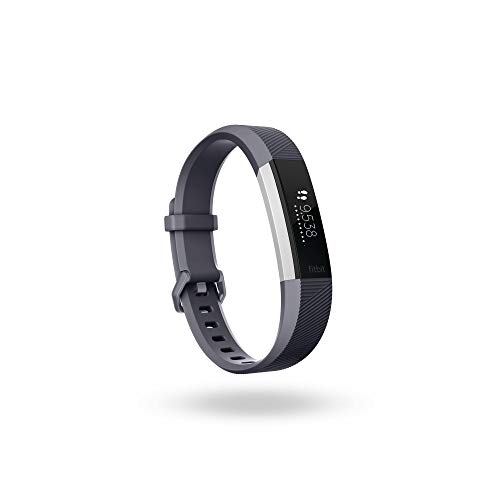 Fitbit Alta HR, Blue/Gray, Small (International Version) (Renewed)
