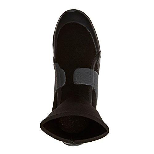 2017 Billabong Absolute Comp 5mm Round Toe Neoprene Boot BLACK F4BT22