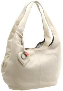 159f5adb00 Image Unavailable. Image not available for. Colour  Yoshi Leather Handbag  Cream Meehan Shoulder Bag
