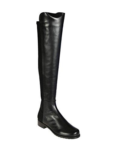 Over Black Boot Nappa Weitzman Knee the Women's Stuart Leather 5050 SOUaFpp