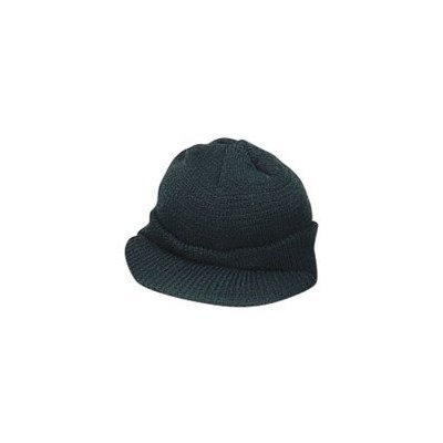 Amazon.com  Genuine G.I. Black Wool Jeep Cap afbbc3f2739