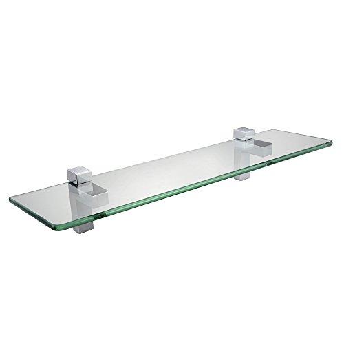 KES BGS3201 Lavatory Bathroom Tempered Glass Shelf 8MM-Thick Wall Mount