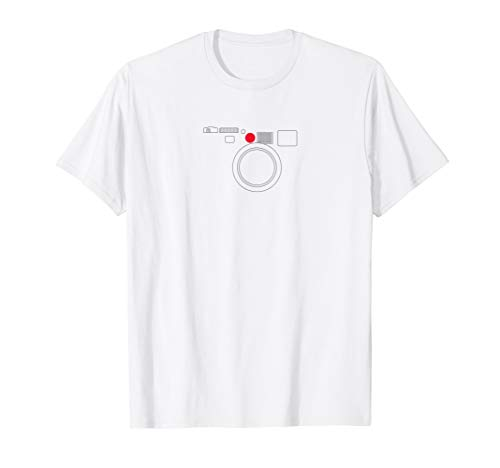 Minimalist Leica M t-shirt Retro Film