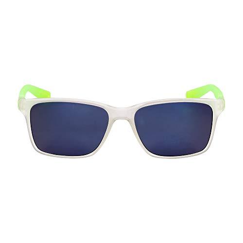 Nike Clear Plastic Frame Gray Lens Unisex Sunglasses 7091S291935416971