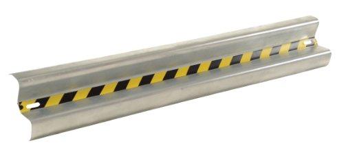 (Vestil GR-5 Galvanized Straight Guard Rail, 60