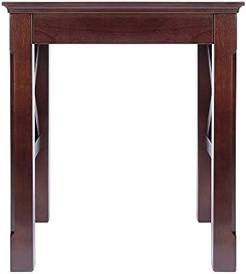 Amazon Com Winsome Xola Nesting Tables Cappuccino Furniture Decor