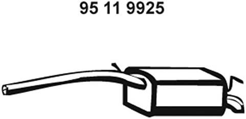 Ebersp/ächer 95119925 Endschalld/ämpfer