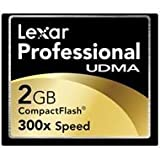 Best Crucial Memory Cards - Lexar Professional UDMA 300x 2GB CompactFlash Memory Card Review