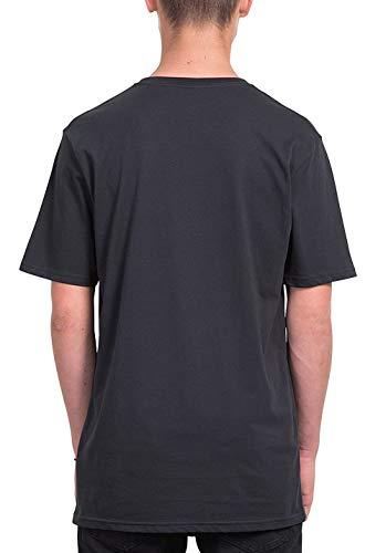 shirt Coton Ss T Euro Biologique Black 100 Homme Volcom Crisp Bsc T F8wYnItq