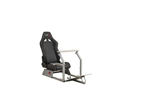 GTR Simulator GTA Model with Real Racing Seat, Driving Simulator Cockpit Gaming Chair with Gear...