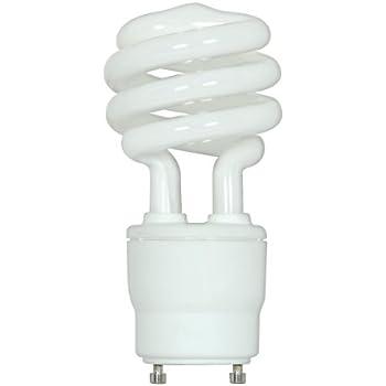 Satco S8207 26 Watt  120 Watt  1750 Lumens Mini Spiral CFL Soft White 2700K  GU24 Base Light BulbAmazon com  MaxLite MLS26GUWW6 GU24 Base Compact Fluorescent Light  . Base Lighting And Fire Limited. Home Design Ideas