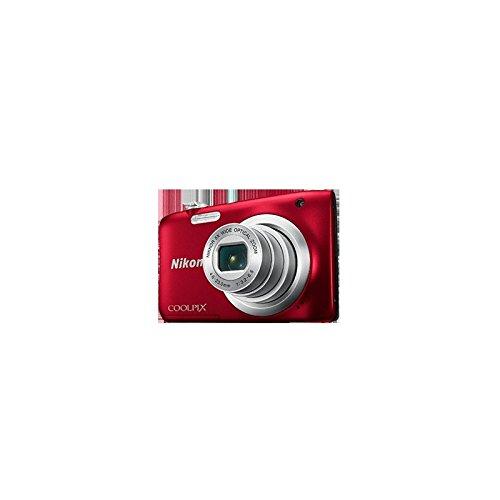 Nikon COOLPIX A100, Case, Selfie Stick Cámara compacta 20.1 MP 1/2.3' CCD 5152 x 3864 Pixeles Rojo - Cámara Digital (Case,...