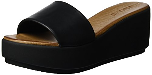 Chaussures Black Schwarz Compensées Femme 7112 Inuovo 4vfwqAw
