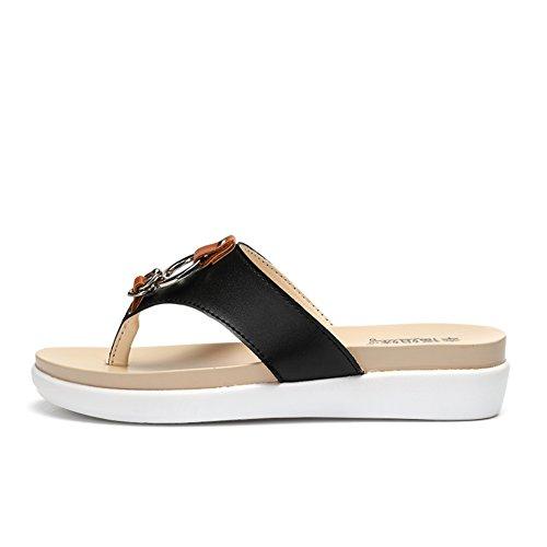 La moda de verano gruesa espina inferior arrastre/Usar calzado antideslizante B