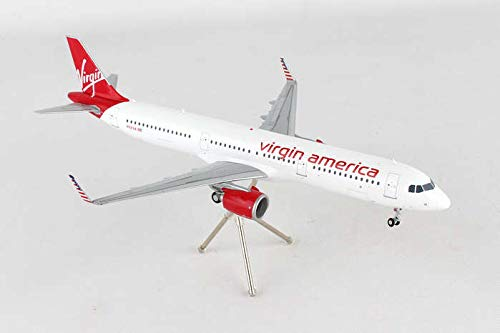 GEMINI Gemini200 Virgin America A321neo N921VA 1: 200 Scale Diecast Model Airplane Vehicle