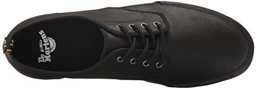 Dr.Martens Mens Pressler Leather Shoes Negro