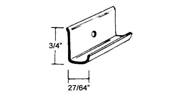 Universal Molding RV117SMF 16' Aluminum Drip Rail: Amazon ca: Automotive