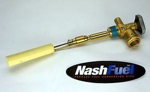 Nashfuel Propane Tank Service Valve Pv3004A Rego Style Coupler Opd Grill Bbq Aluminum 30