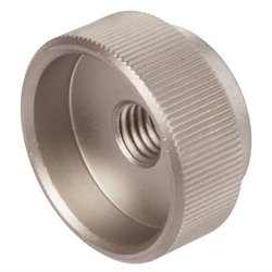 Knurled nut DIN6303 Thread M 5 Material Stainless Steel 1.4305