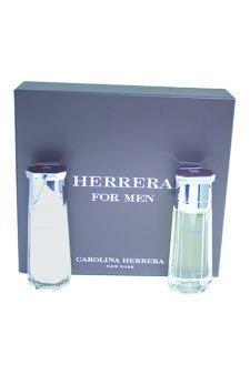 - Herrera by Carolina Herrera for Men - 2 Pc Gift Set 3.4oz EDT Spray, 3.4oz After Shave Balm