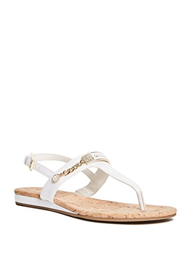 GUESS Factory Women's Jyll T-Strap Sandals