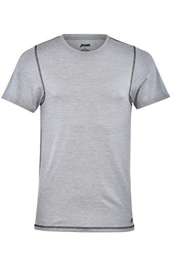 Penn Mens Performance T-Shirt Polyester/Spandex Blend Athletic Fit Tennis Shirt Gym Workout Shirt