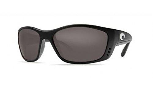Costa Del Mar Permit Sunglasses, Black, Gray 580Plastic ()