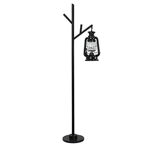 $Floor Lamp Floor Lamp LED Horse Light Kerosene Lamp Wrought Iron Decoration Outdoor Lighting Emergency Camping Tent Floor Lamp (Edition : 3 watts of White Light) (Floor Shade Tent Lamp)