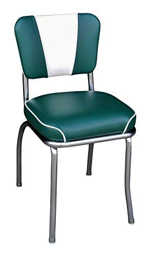 (Richardson Seating V-Back Chrome Diner Chair with 2