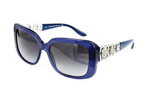 Bvlgari - GIARDINI ITALIANI BV 8167B, Geometric, acetate, women, BLUE/GREY SHADED(5145/8G ), 55/17/135