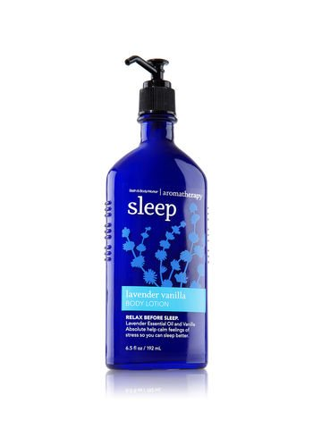 Relax Essential Oils Body Lotion (Aromatherapy Sleep Lavender Vanilla The Old Model Body Lotion (6.5 fl oz) Discontinued)