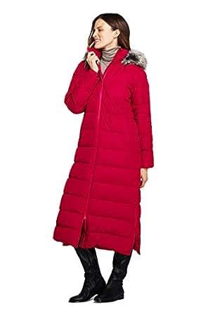 Amazon.com: Lands' End Women's Tall Winter Long Down Coat