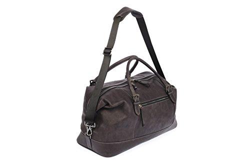 DeCaso Holdall/Travel Bag, Borsa a mano uomo, Holdall/Travel Bag, Grigio:  Amazon.it: Scarpe e borse