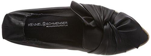Donne Schmenger Appartamenti Nero Sa Balletto suola E Xxl Piattaforma Delle Canile 610 Nera Pia w0q8Z5B