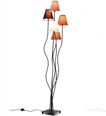 Stehleuchte Flexible Mocca Cinque, Retro Design Stehlampe Für Das Wohnzimmer,  Dezente Leselampe, Standleuchte