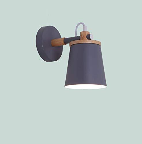 Raum-Schlafzimmer-Nachttischlampe macaron Hintergrundwand-Ganglampen der nordischen Wandlampe kreativen modernen unbedeutenden Kinder