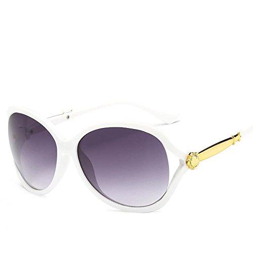 Aoligei Mode lunettes de soleil lady fleur creux tendance lunettes de soleil personnalité cent paire de lunettes de soleil A
