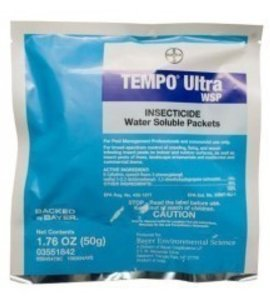 Tempo Ultra WSP Insecticide (8) 50g packets by Bayer