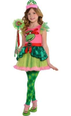 Amscan Teenage Mutant Ninja Turtles Tutu Dress for Girls, One Size, with Included Accessories ()