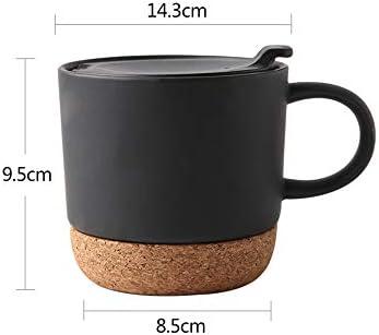 1PCS Conjuntos de tazas de café Tazas de cerámica con corcho ...