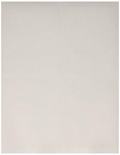 Elite Image White Full Sheet Laser Labels (ELI26005) ()