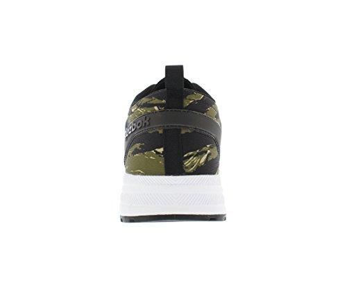 Reebok Ventilator Aanpassing Grafisch Heren Casual Schoenen Maat Zwart / Warm Olijf / Wit