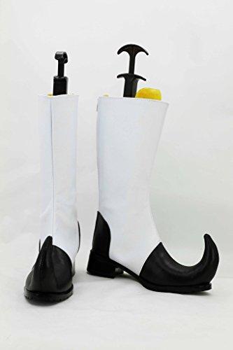 Black Butler Kuroshitsuji Circus Pugnale Scarpe Cosplay Stivali Su Misura