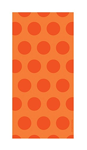 Polka Dot Cello Bags (Creative Converting 20 Count Polka Dot Cello Bags, Sunkissed Orange)