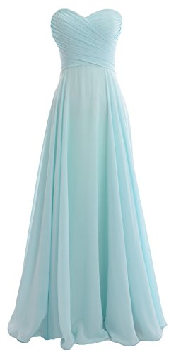 macloth–Robe–Ligne à à–Sans Manches–Femme -  bleu - 48