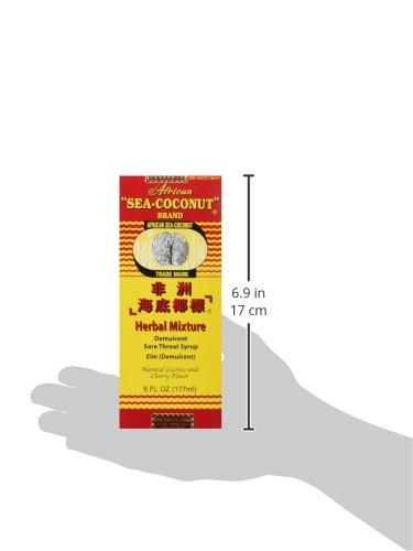 African Sea-coconut Cough Mixture 177 Ml.