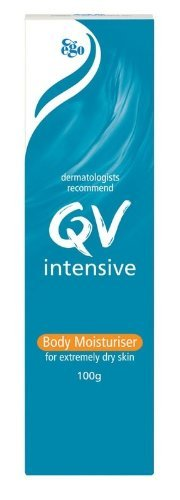 QV Intensive Body Moisturiser for extremely dry skin (Made in Australia) 100g (3 Pack)