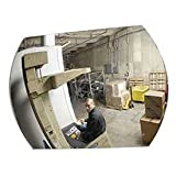 Relius Solutions Low-Clearance Safety Mirror - Acrylic - 20X30'' - Indoor - 20x30''